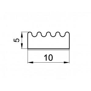 Wymiary profil e 5 x 10