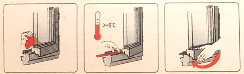 Instrukcja montażu uszczelki Interchemall